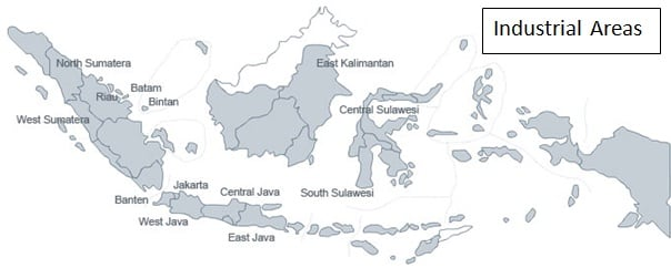 industrial areas Indonesia