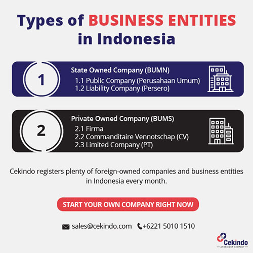 Business Entities in Indonesia