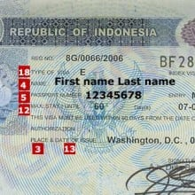 Indonesian Visa and Permit Application