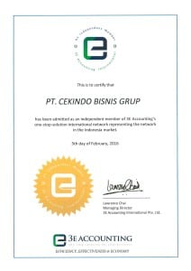 Cekindo Bisnis Grup - 3E Accounting