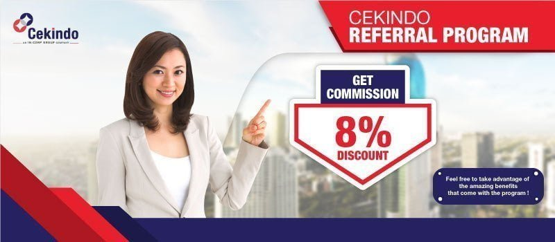 cekindo referral program 2019