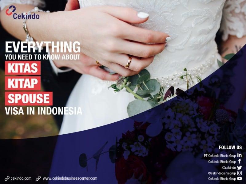 KITAS, KITAP, Spouse visa in Indonesia