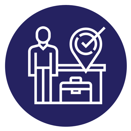 Multiple entry business visa - Icon