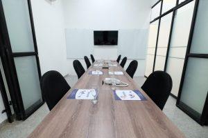 meeting room in cekindo semarang office