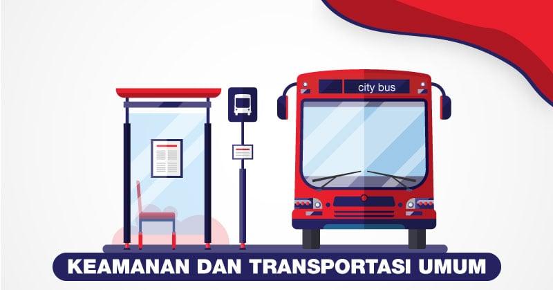 keamanan dan transportasi umum ekspat semarang