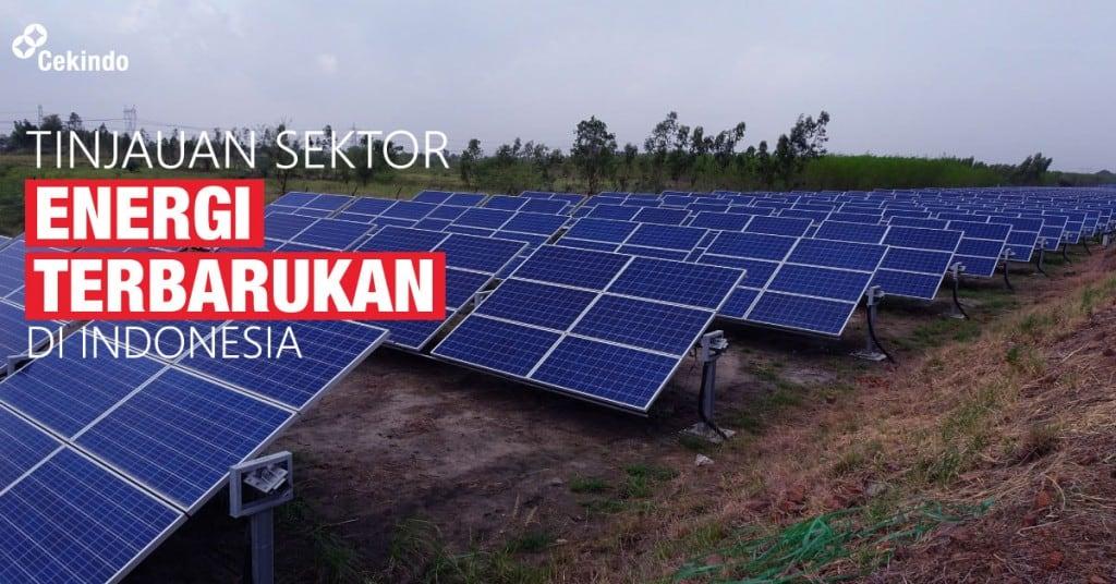 tinjauan sektor energi terbarukan di indonesia