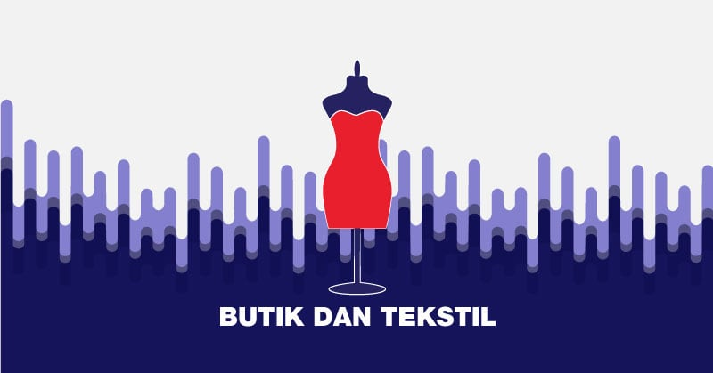 bisnis kecil-kecilan di bali - butik dan tekstil