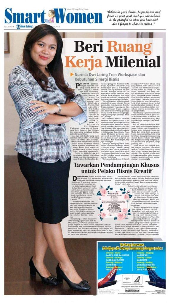 Nurmia Agustina on Smart Women