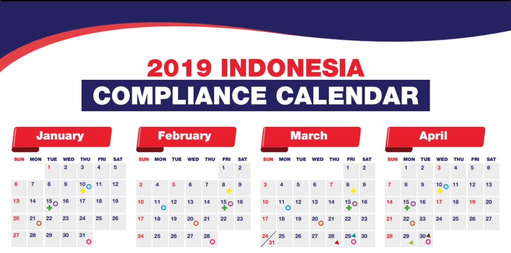 indonesia tax compliance calendara