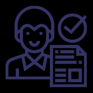 work permit Indonesia - applicant icon