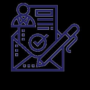 sponsorship letter icon