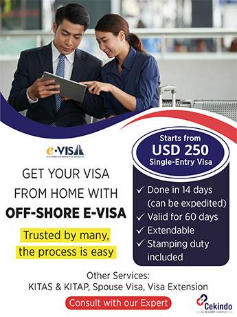 Offshore E Visa - Popup Banner