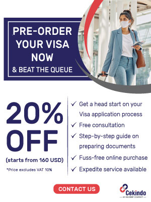 Pre Order Visa Promo - Popup Banner